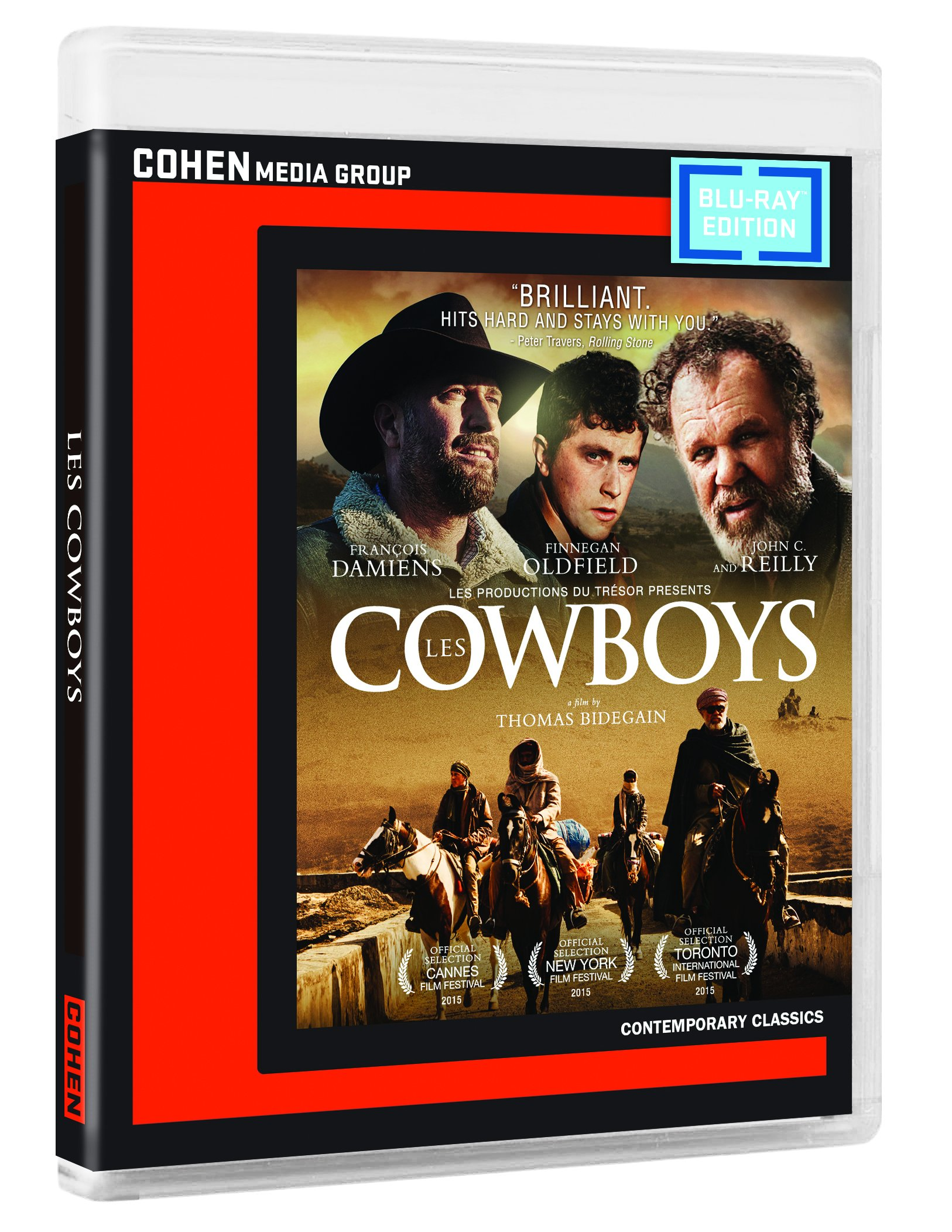Blu-ray : Les Cowboys (Dolby, AC-3, Widescreen, Subtitled)