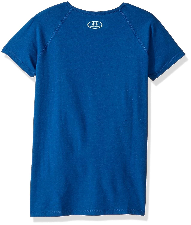 6b3b2f2b Amazon.com: Under Armour Girls' Play Soccer T-Shirt: Clothing