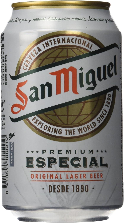 San Miguel Especial Cerveza - 33 cl: Amazon.es: Amazon Pantry