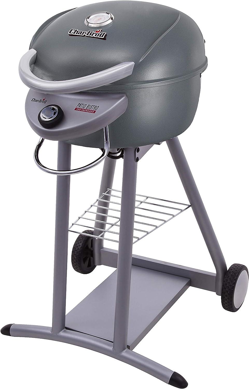 Char-Broil 20602108 Patio Bistro TRU-Infrared Electric Grill, Graphite