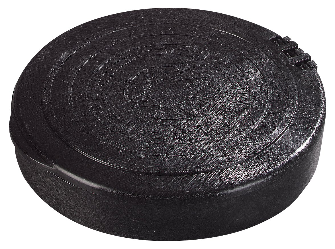Carlisle 071003 Insulated Hinged Tortilla Server, 7'' / 1'', Black