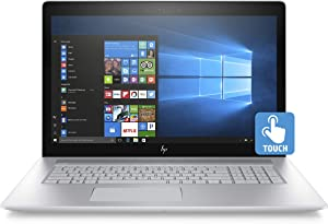 HP Envy 17-inch Laptop, Intel Core i7-8550U Processor, NVIDIA GeForce MX150 4 GB, 12 GB RAM, 1 TB Hard Drive, Windows 10 Home (17-ae110nr, Silver) (Renewed)