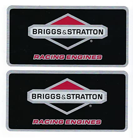 Amazon com: Briggs & Stratton Racing Engines Decals Stickers