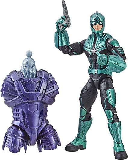 "Marvel Legends Starforce Commander Captain Marvel Kree Sentry 6/"" Loose Figure"