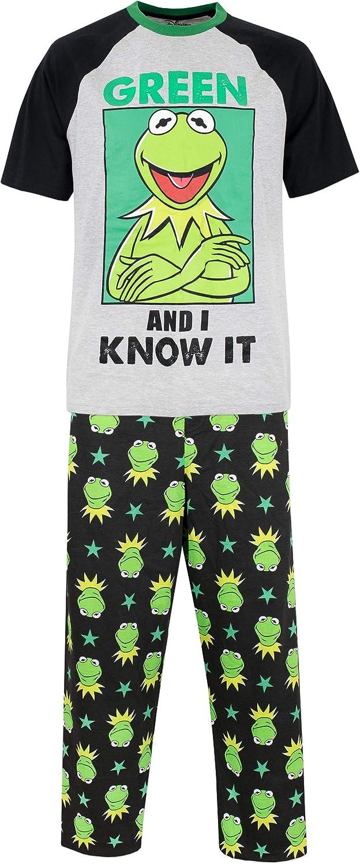 Disney Los Muppets Pijama para Hombre La Rana Gustavo