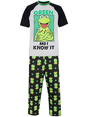 Disney The Muppets Mens Kermit Pyjamas  Amazon.co.uk  Clothing e6abdcc6c