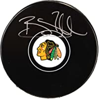 Brent Seabrook Chicago Blackhawks Autographed Hockey Puck - Fanatics Authentic Certified - Autographed NHL Pucks photo