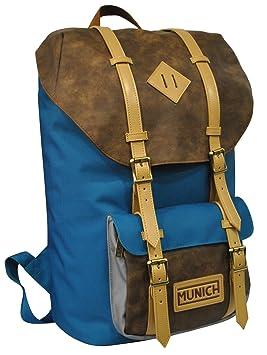 a1a031b15 mochila hipster munich azul y beige