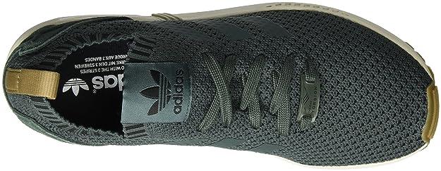 5344fc8961ff6 adidas Men s s Zx Flux Primeknit Low-Top Sneakers  Amazon.co.uk  Shoes    Bags
