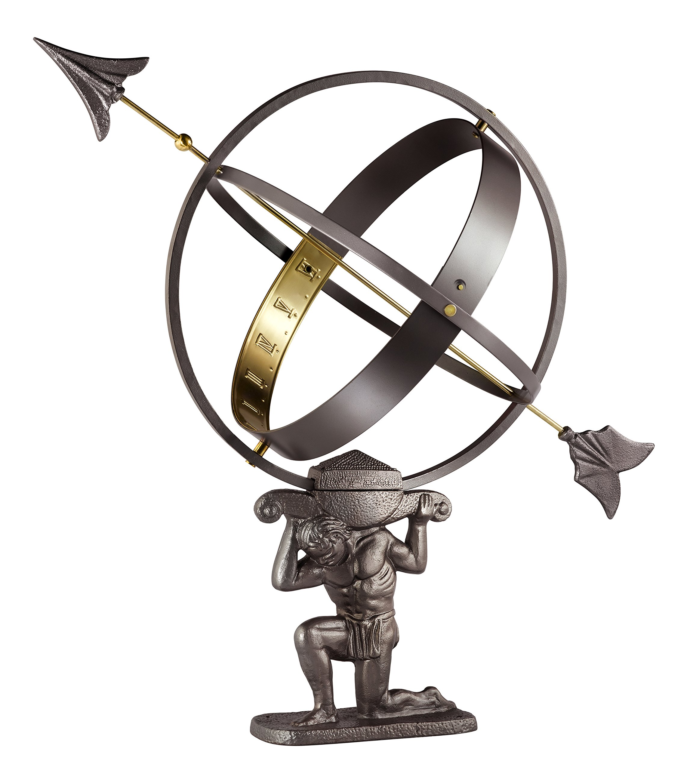 Good Directions Atlas Armillary Sundial by Good Directions