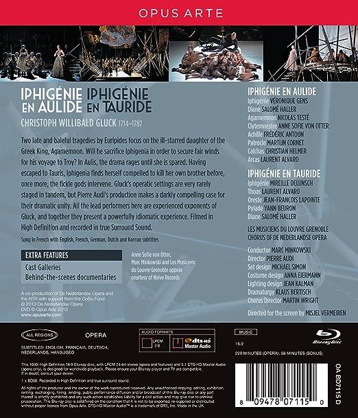 Amazon com: Gluck: Iphigénie en Aulide / Iphigénie en