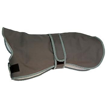 Amathings – Abrigo para perros térmico e impermeable de borreguito con cuello y