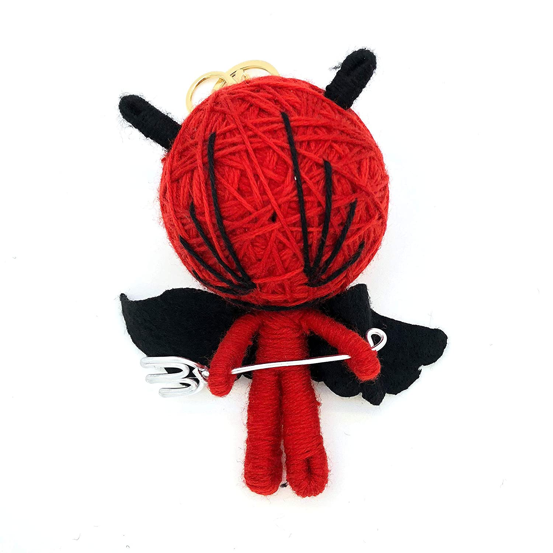 GS ゴルフティーホルダー アクセサリー ウール人形  レッド B07L33836R