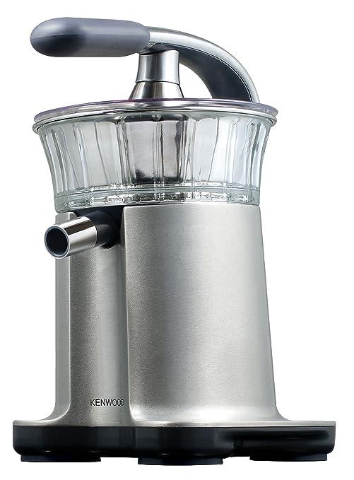 Kenwood JE450 - Exprimidor profesional automático, 140 W, acero inoxidable y cristal