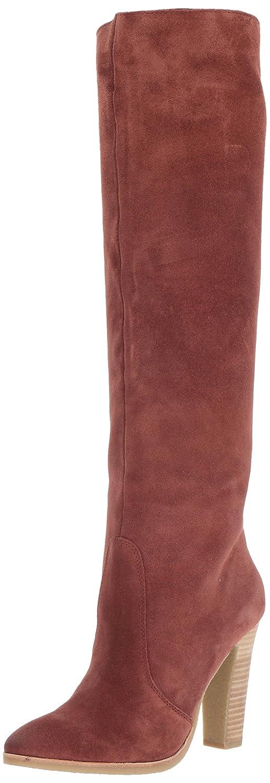 Dolce Vita Women's Celine Knee High Boot B072QCHDDG 7 B(M) US|Brick Suede