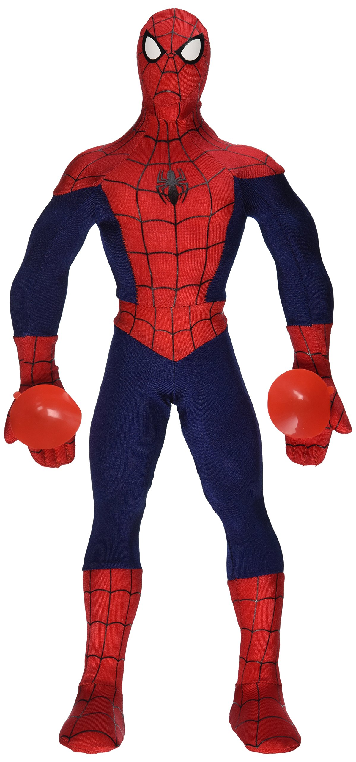 Marvel Spiderman Poseable Action Figure Plush Toy by Just Play