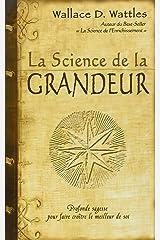 La science de la grandeur Paperback