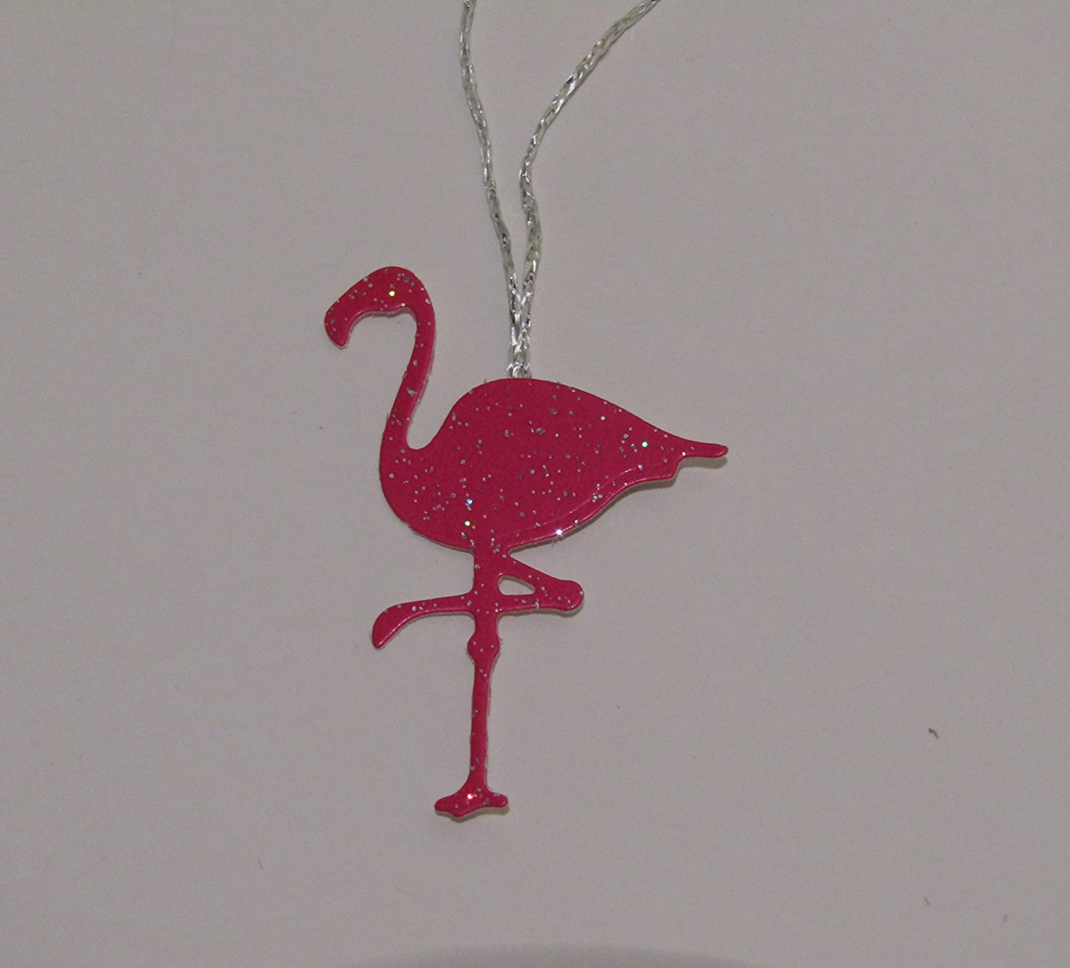 newest collection b803b 2f9d4 Flamingo Christmas tree decoration, Pack of 4, Pink ...