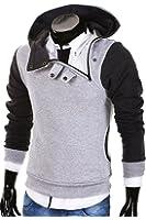 MT Styles - S-139 - Sweat-shirt à capuche style université américaine