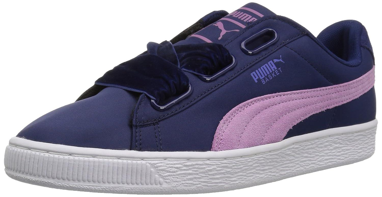 Puma - - - Damen Korb Herz Nylon Schuhe, 37.5 EU, Blau Depths Smoky Grape b44f4e