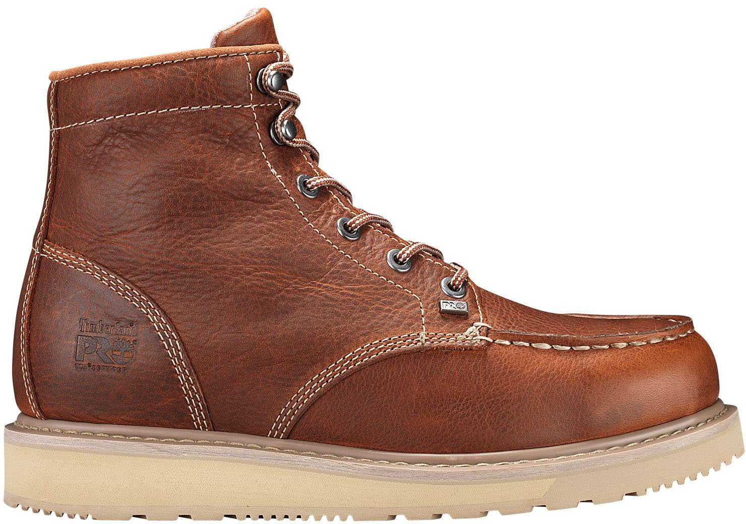 Timberland PRO Men's Barstow Wedge Work Boot,Brown,10 M US
