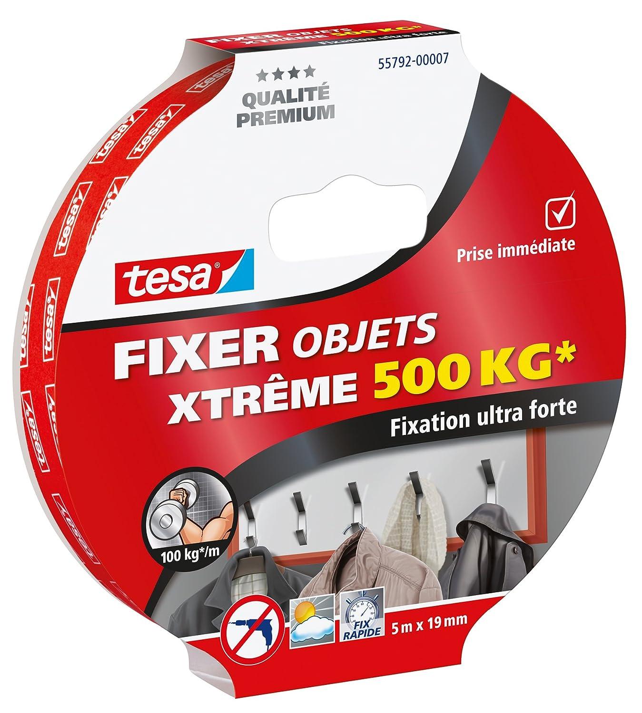 Tesa 55791-00007-00 Fixer Objets Xtreme 150 kg 1, 5 m x 19 mm 15411