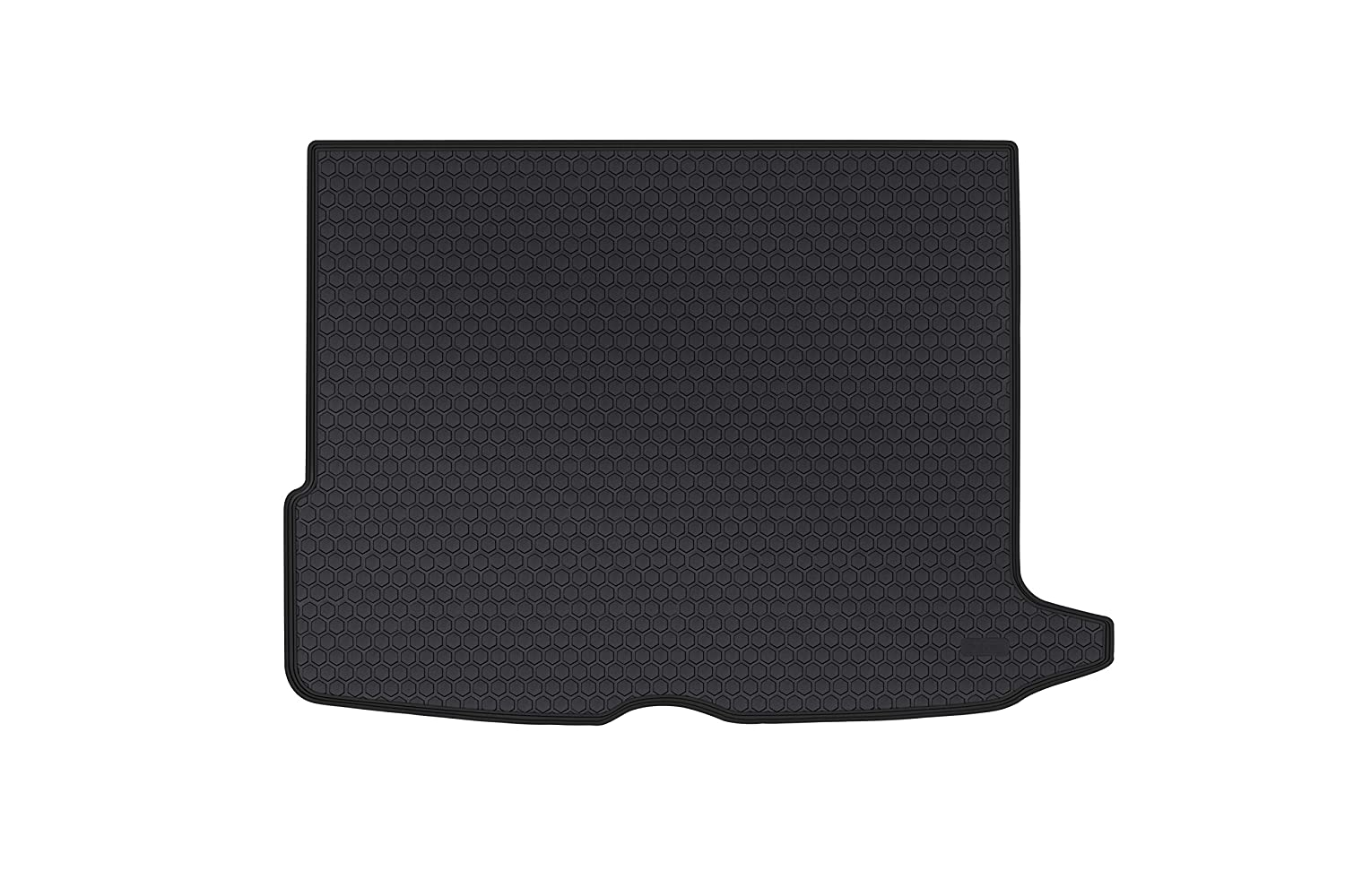 San Auto Cargo Liners Custom Fit for Mercedes-Benz GLC 2016 2017 2018 2019 Trunk Mats Full Black Rubber for All Weather Heavy Duty Odorless