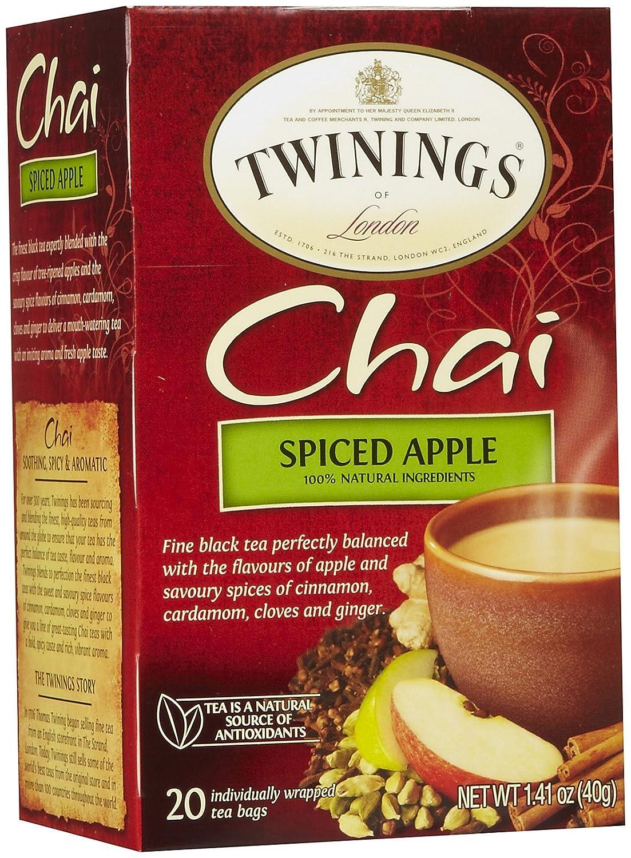 Twinings Spiced Apple Chai Tea - 1.41 oz - 20 ct