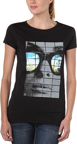 DC Shoes - Camiseta de Running para Mujer, tamaño M, Color Negro: Amazon.es: Ropa y accesorios