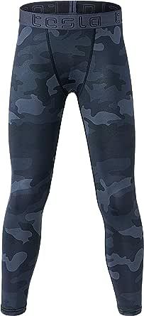 TSLA Boy's Compression Baselayer Cool Dry T-Shirts/Long Tights/Shorts, Basketball Running Hockey Soccer Multi Sports wear for Boys