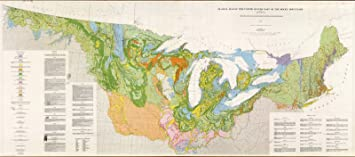 Amazon.com : Wall Map, United States: East of The Rocky ...