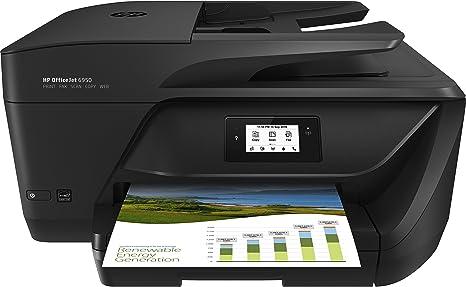 HP OfficeJet - Impresora multifunción (Inyección de tinta térmica ...