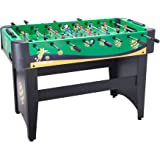 """Pinty 48"""" Foosball Table Soccer Football Table 48"""" x 32"""" x 24"""" MDF Construction for Family Use Arcade Game Room"""