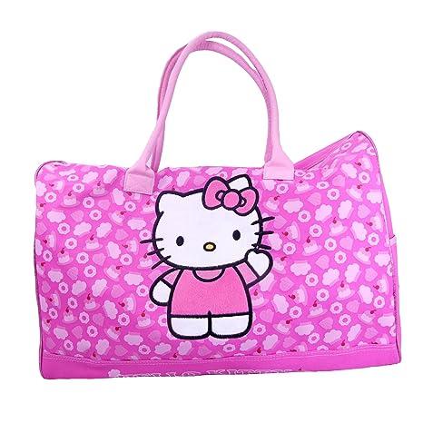 593bca6640cc Sanrio Hello Kitty Duffle Bag Travel Gym 20