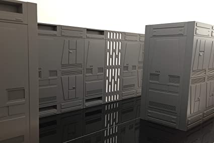 Death Star Playset Support Wall  Right Side Star Wars Vintage