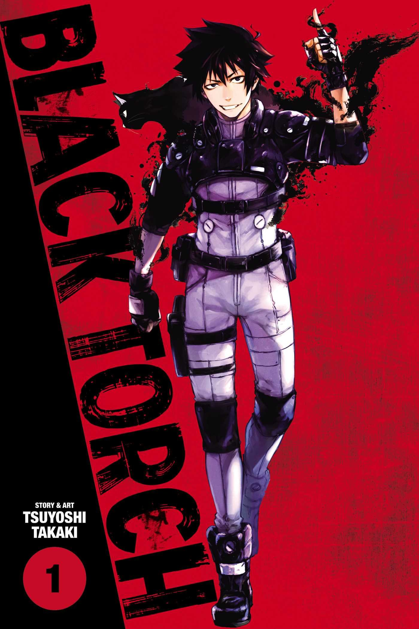 Black Torch, Vol. 1 (1): Tsuyoshi Takaki: 9781974700462 ...