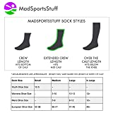 MadSportsStuff Breast Cancer Awareness Support Crew Socks