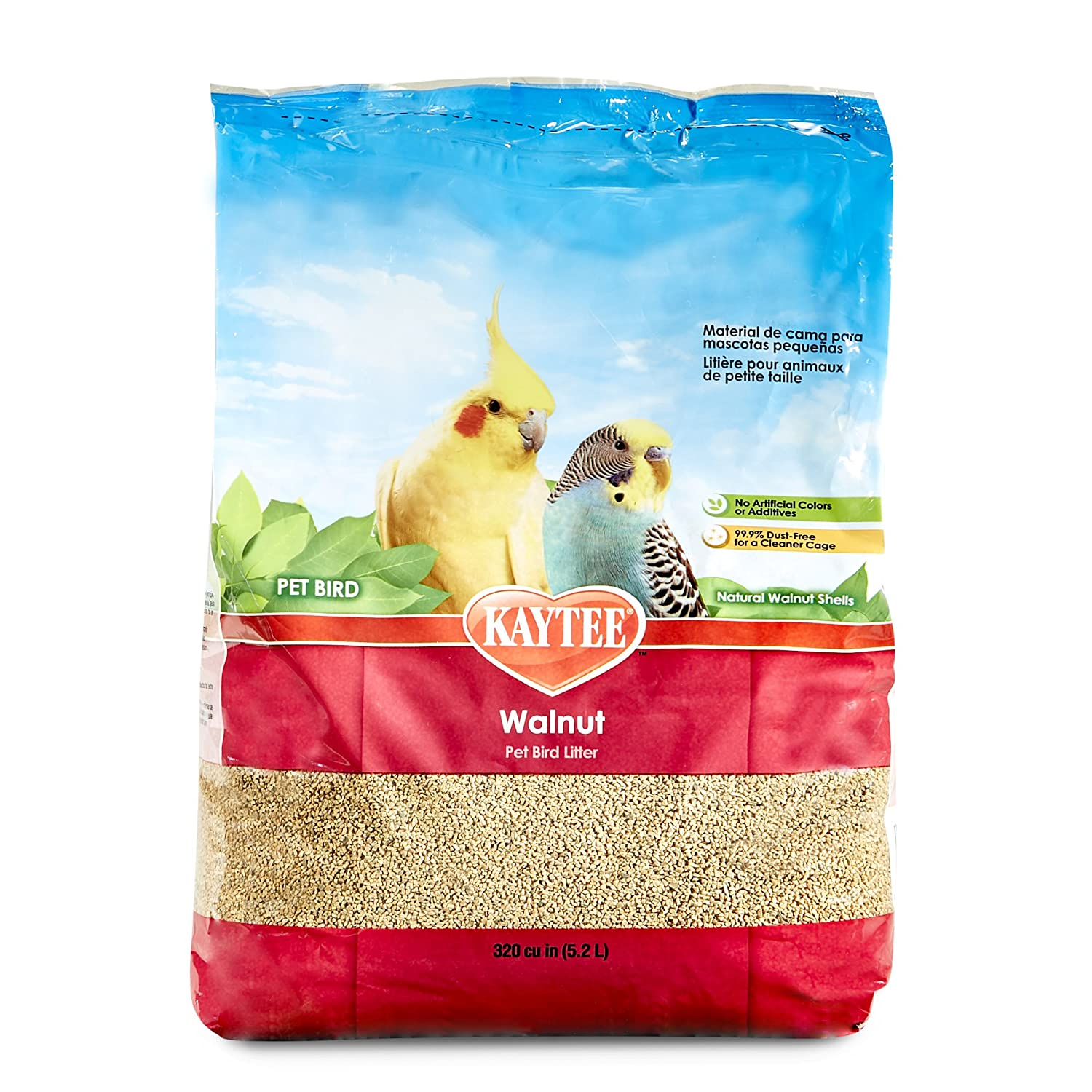 Kaytee Walnut Bedding for Pet Birds