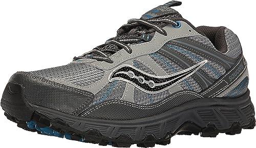 3933a8ce12f Saucony Men's Grid Escape TR2 Grey/Blue Athletic Shoe: Amazon.ca ...