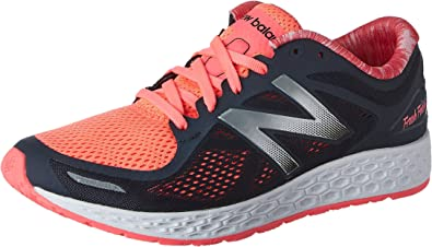 New Balance Mujer Fresh Foam Zante v2 Running Shoe, Black/Pink, 40.5 C/D EU: Amazon.es: Zapatos y complementos