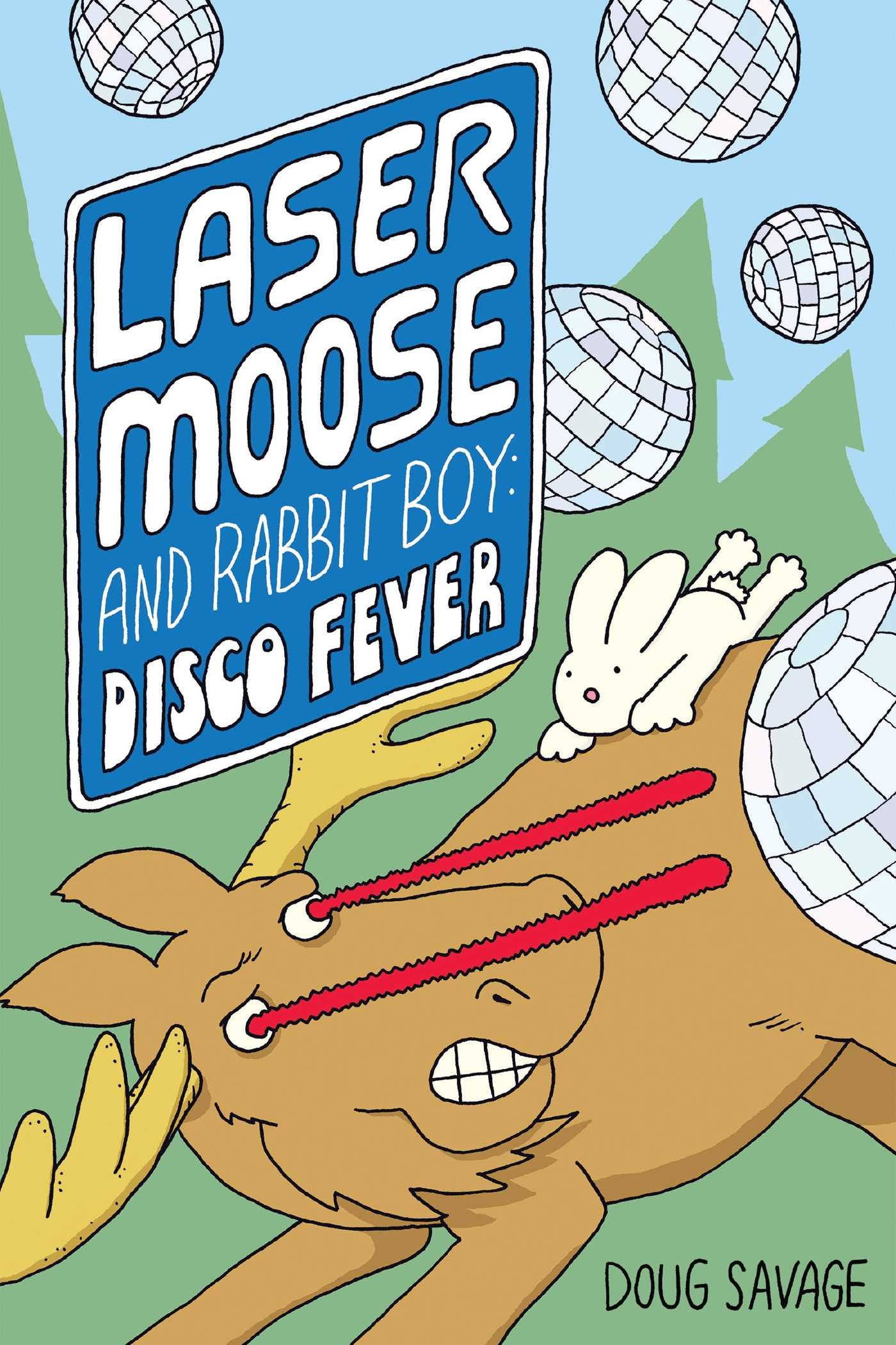 Amazon Com Laser Moose And Rabbit Boy Disco Fever Laser Moose