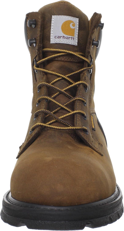 Amazon Com Carhartt Men S Cmw6220 6 Steel Toe Work Boot Industrial Construction Boots