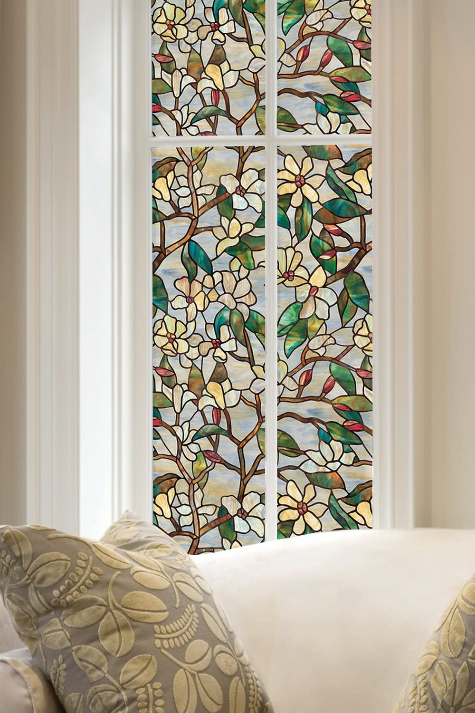 Artscape 01-0142 - Película para ventanas, magnolia de verano, 61 x 92 cm