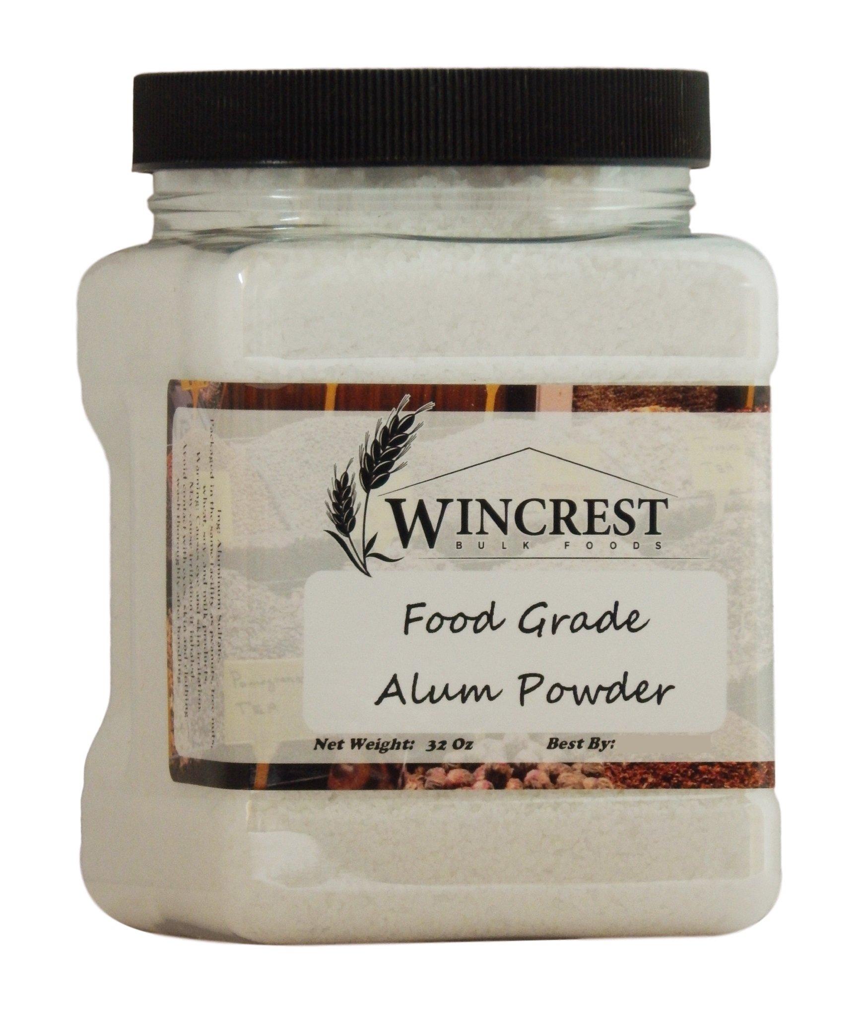 Alum Powder - Food Grade - 2 Lb Container