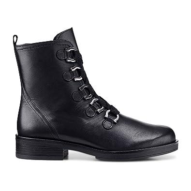 1f4bb73042d Gabor - Bottines à Lacets Noires - Noir  Amazon.fr  Chaussures et Sacs