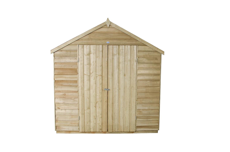 Apex Gartenhaus Druck behandelt 7 x 5-tür Holz Schuppen: Amazon.de ...