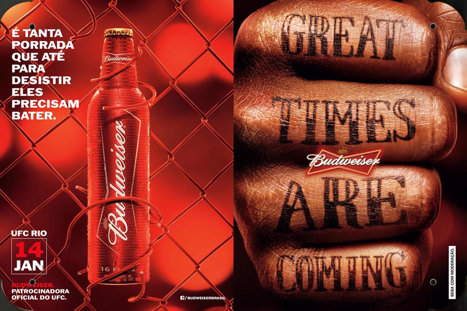 budweiser Beer Great Time Are Coming metal poster cartel ...