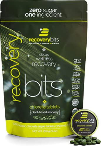RECOVERYbits Pure Chlorella Tablet