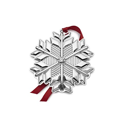 Gorham 2017 Sterling Silver Snowflake Ornament, 48th Edition - Amazon.com: Gorham 2017 Sterling Silver Snowflake Ornament, 48th
