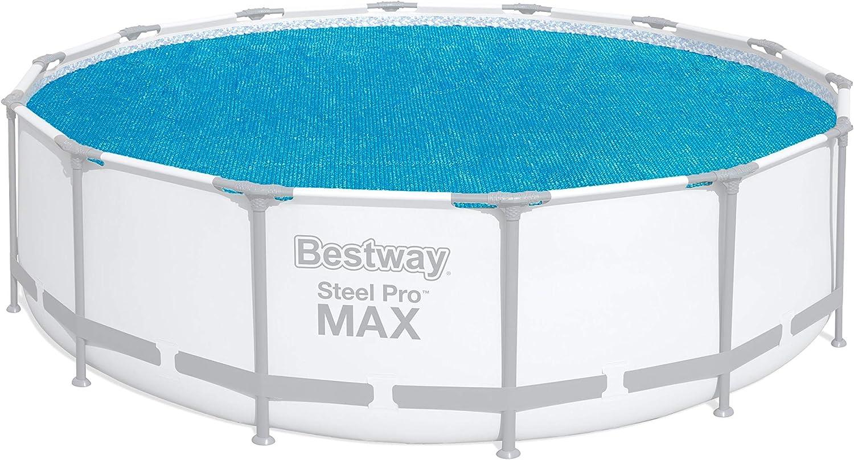 Bestway 58252 - Cobertor Solar para Piscina Desmontable Ø427 cm: Amazon.es: Jardín